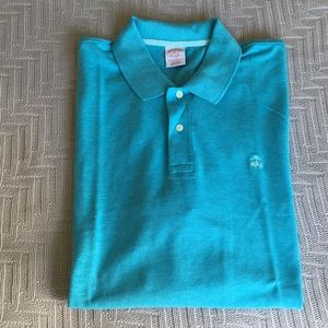 Brooks Brothers teal polo shirt, size XL